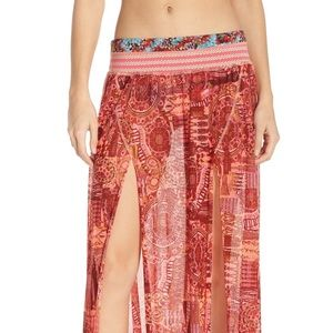 Maaji 'South Pacific' Maxi Beach Skirt